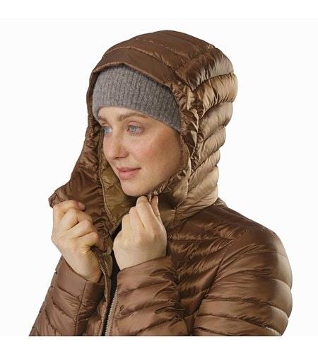 Nuri Coat Women's Topi Hood Up