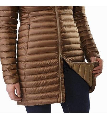Nuri Coat Women's Topi Two Way Zipper
