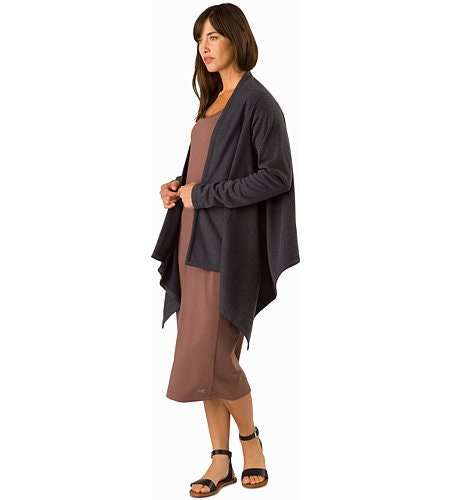 Nyara Wrap Women's Black Heather Outfit