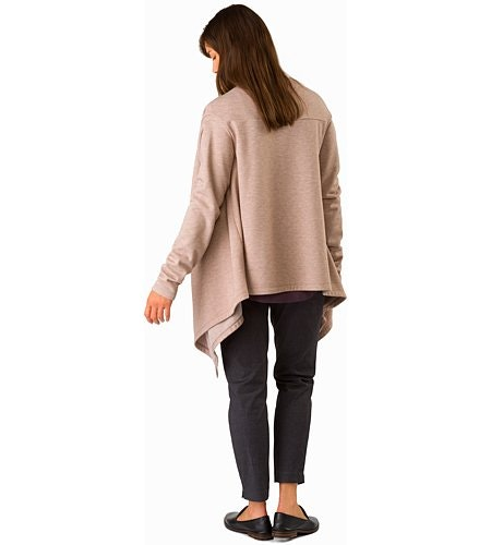 Nyara Wrap Women's Kirigami Heather Back View