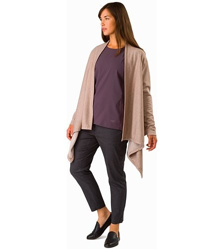 Nyara Wrap Women's Kirigami Heather Front View