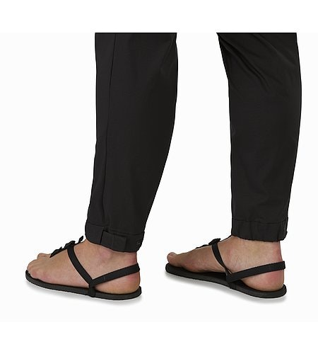 Nydra Pant Women's Black Adjustable Cuffs Closed