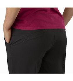 Nydra Pant Women's Black External Back Pockets