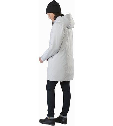 Osanna Coat Women's Athena Grey Back View
