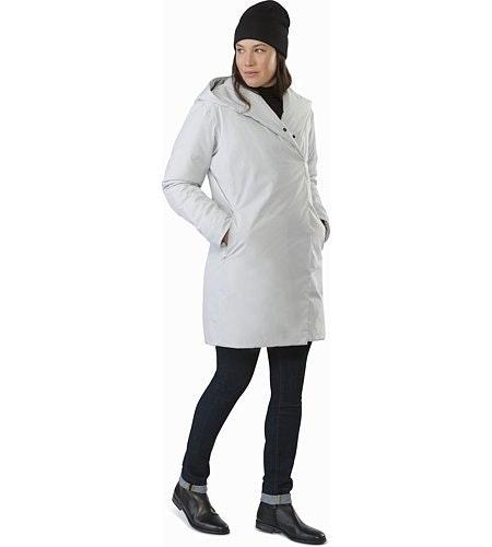 Osanna Coat Women's Athena Grey Front View