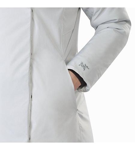 Osanna Coat Women's Athena Grey Hand Pocket