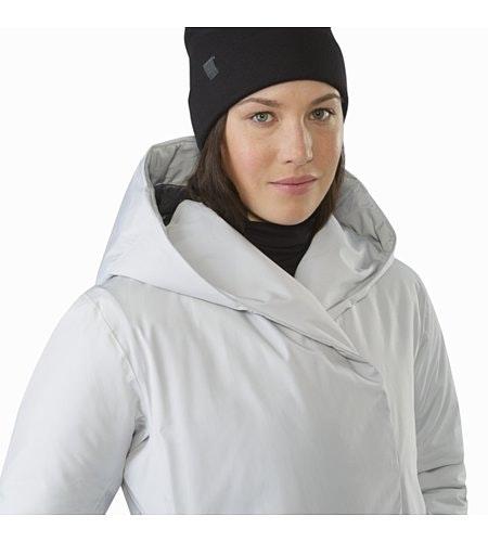 Osanna Coat Women's Athena Grey Hood Down