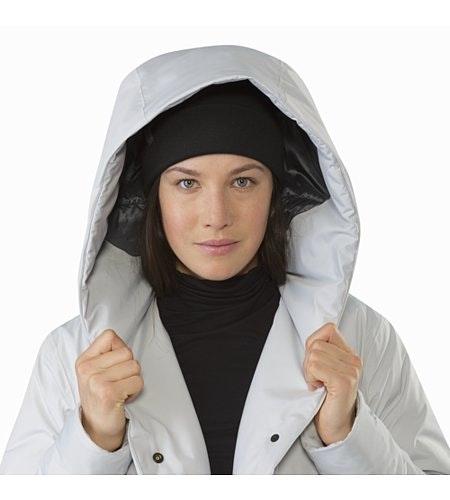 Osanna Coat Women's Athena Grey Hood Up