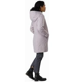 Osanna Coat Women's Morganite Back View