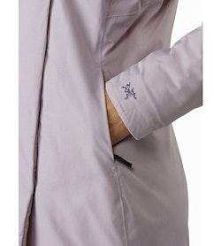 Osanna Coat Women's Morganite Hand Pocket