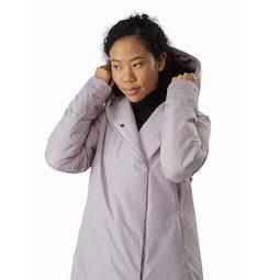 Osanna Coat Women's Morganite Hood Up