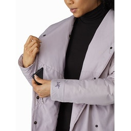 Osanna Coat Women's Morganite Internal Security Pocket