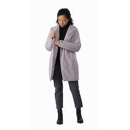 Osanna Coat Women's Morganite Open View