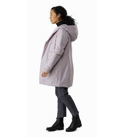 Osanna Coat Women's Morganite Side View