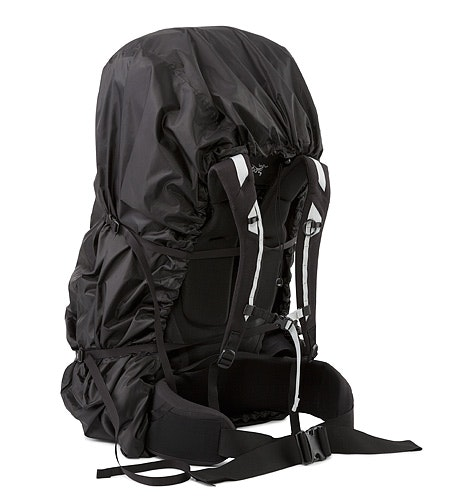 Pack Shelter L Black Compression Strap