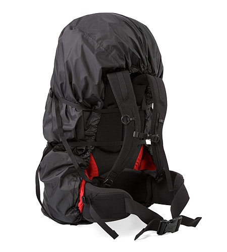 Pack Shelter M Black Compression Strap
