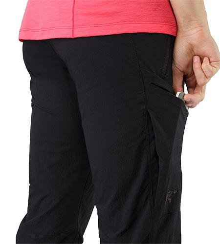 Palisade Pant Women's Black External Pocket