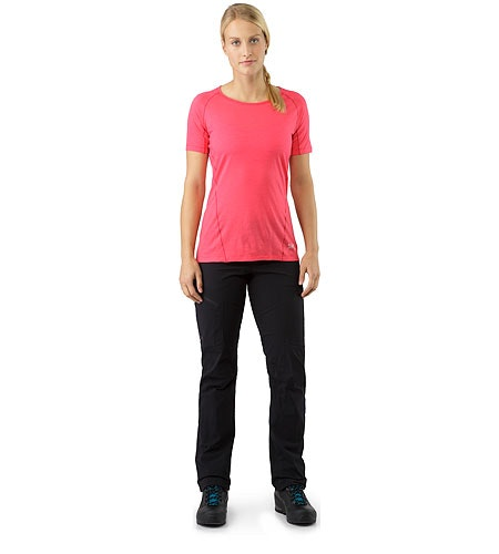 Palisade Pant Women's Black Front View