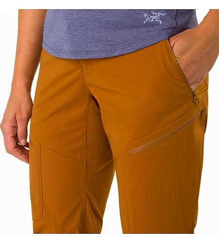 Pantalon Palisade Femme Theanine Poche repose-main