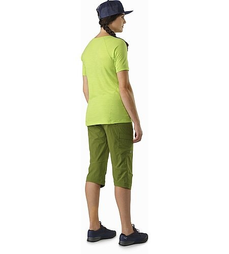 Parapet Capri Women's Creekside Back View
