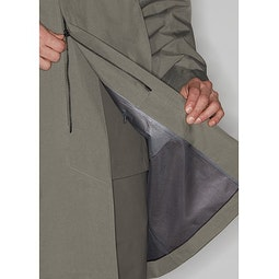Partition AR Coat Clay Two Way Zipper
