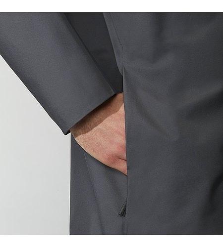 Partition LT Coat Ash Hand Pocket