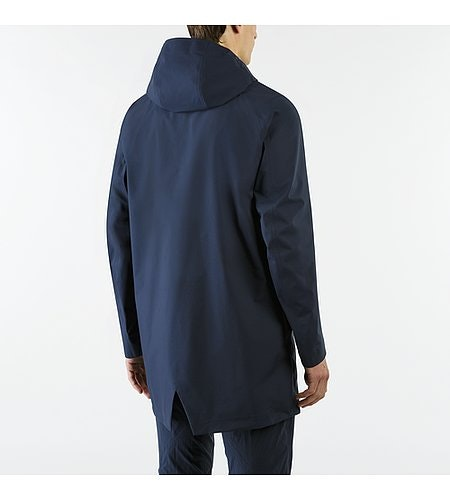 Partition LT Coat Dark Navy Back View
