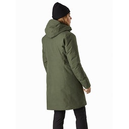 Patera Parka Women's Aeroponic Back View