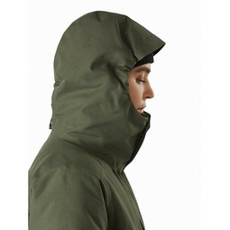 Patera Parka Women's Aeroponic Hood Side View