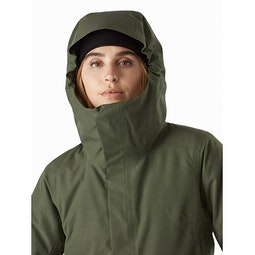 Patera Parka Women's Aeroponic Hood Up