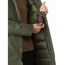 Patera Parka Women's Aeroponic Internal Security Pocket