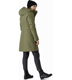 Patera Parka Women's Arbour Back View