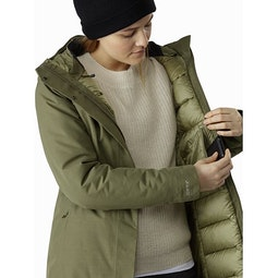 Patera Parka Women's Arbour Internal Security Pocket