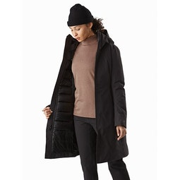 Patera Parka Women's Black Open View