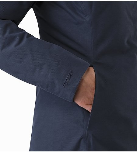 Patera Parka Women's Black Sapphire Hand Pocket