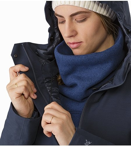 Patera Parka Women's Black Sapphire Hood Adjuster