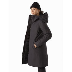 Patera Parka Women's Black Side View