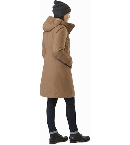 Patera Parka Women's Topi Back View