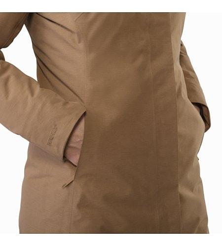 Patera Parka Women's Topi Hand Pocket