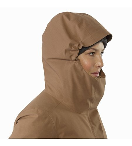 Patera Parka Women's Topi Hood Up