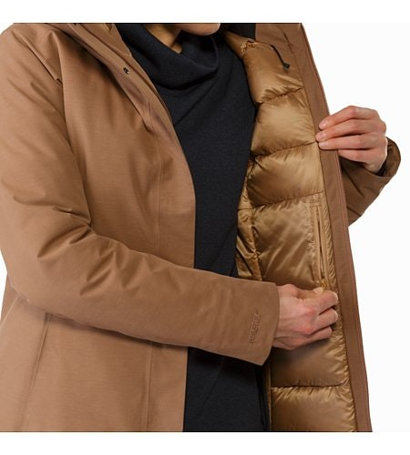 Patera Parka Women's Topi Internal Security Pocket