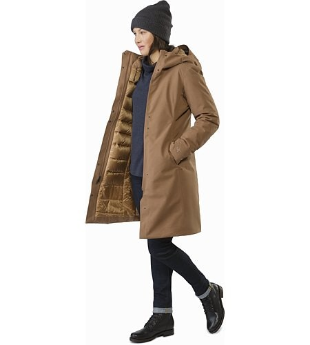 Patera Parka Women's Topi Open View