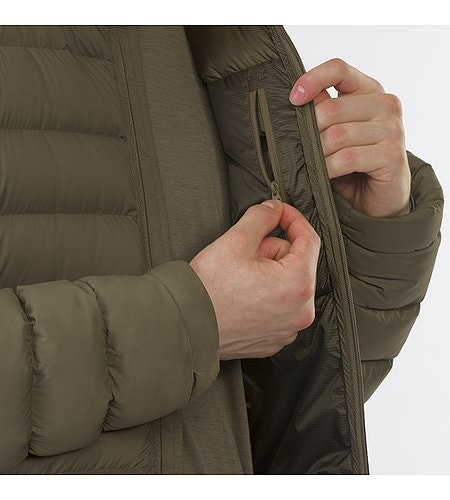 Patrol Down Coat Mortar Inner Jacket Internal Pocket