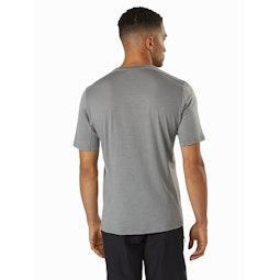 Pelion Comp Shirt SS Cryptochrome Back View