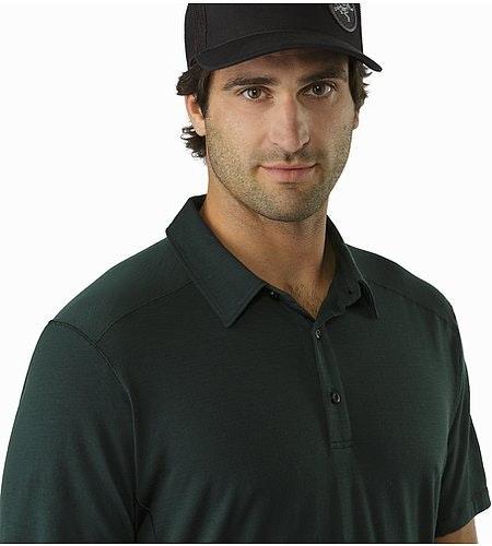 Pelion Polo Shirt Zevan Open Collar