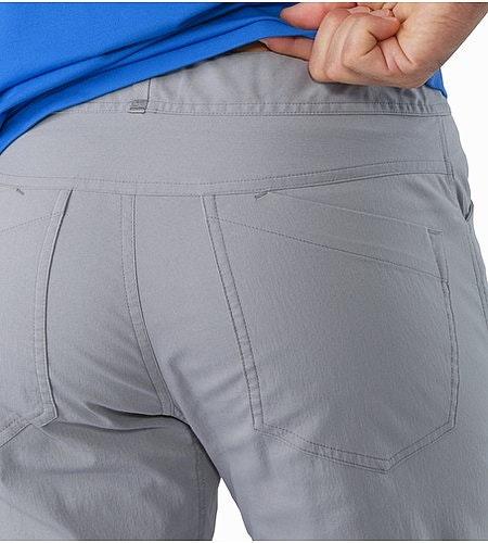 Pemberton Pant Smoke External Pocket Back