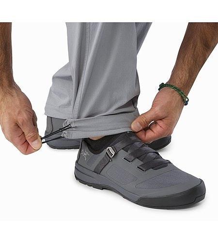 Pemberton Pant Smoke Lower Leg Drawcords