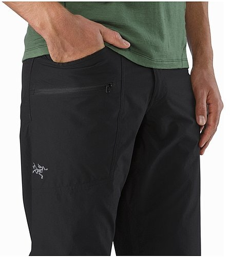 Pantalon Perimeter Black Poches repose-main