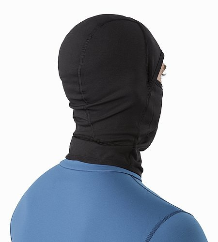 Phase AR Balaclava Black Back View