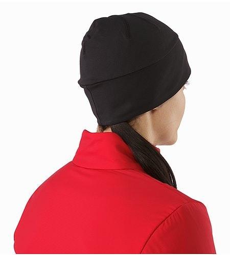 Bonnet Phase AR Noir Vue de dos